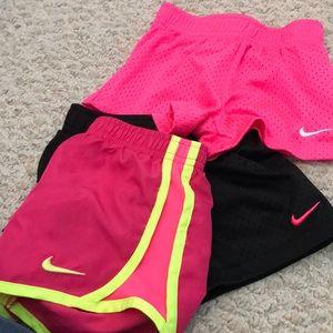 3 pairs of Nike shorts EUC